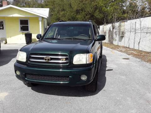 2002 Toyota Sequoia for sale at Louie's Auto Sales in Leesburg FL