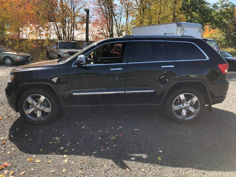 2012 Jeep Grand Cherokee for sale at Perrys Auto Sales & SVC in Northbridge MA