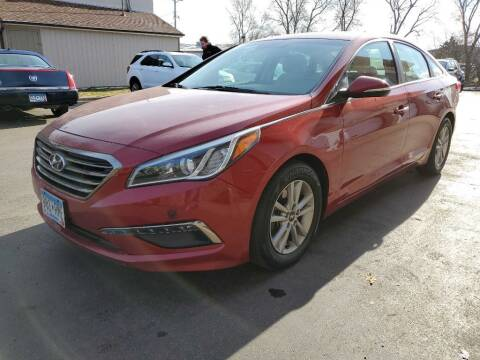 2015 Hyundai Sonata for sale at MIDWEST CAR SEARCH in Fridley MN