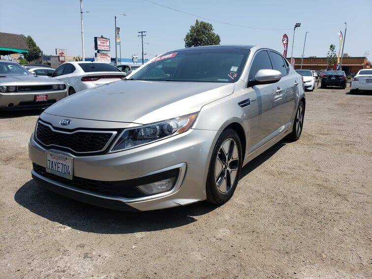 2013 Kia Optima Hybrid for sale at LR AUTO INC in Santa Ana CA