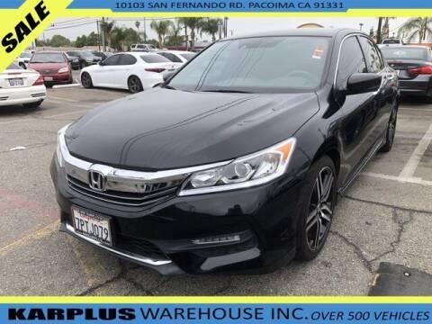 2016 Honda Accord for sale at Karplus Warehouse in Pacoima CA