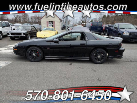 2002 Chevrolet Camaro for sale at FUELIN FINE AUTO SALES INC in Saylorsburg PA