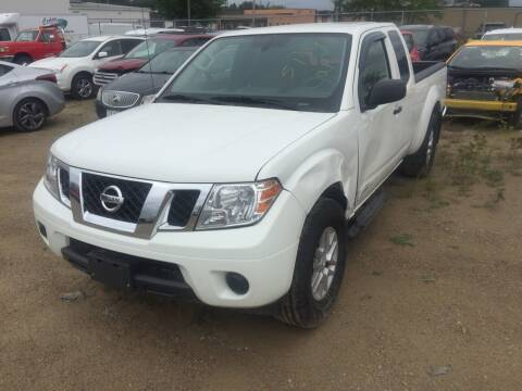 2019 Nissan Frontier for sale at CousineauCrashed.com in Weston WI