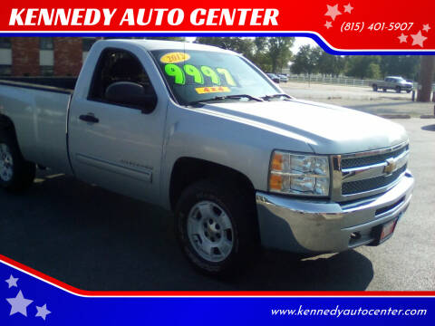 2012 Chevrolet Silverado 1500 for sale at KENNEDY AUTO CENTER in Bradley IL