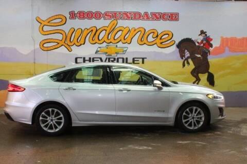 2019 Ford Fusion Hybrid for sale at Sundance Chevrolet in Grand Ledge MI