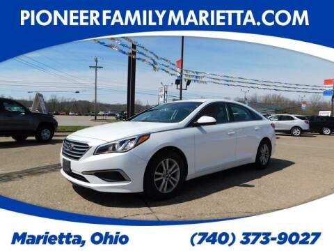 2016 Hyundai Sonata for sale at Pioneer Family preowned autos in Williamstown WV