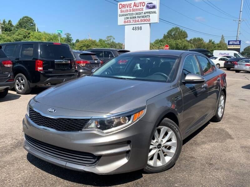 2017 Kia Optima for sale at Drive Auto Sales & Service, LLC. in North Charleston SC