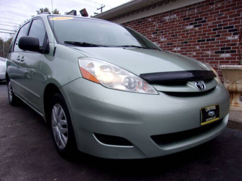 2008 Toyota Sienna for sale at Certified Motorcars LLC in Franklin NH
