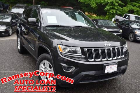 2015 Jeep Grand Cherokee for sale at Ramsey Corp. in West Milford NJ