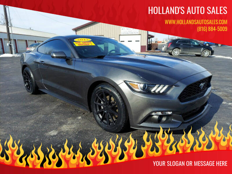 2017 Ford Mustang for sale at Holland's Auto Sales in Harrisonville MO