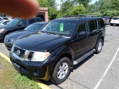 2008 Nissan Pathfinder for sale at Balfour Motors in Agawam MA