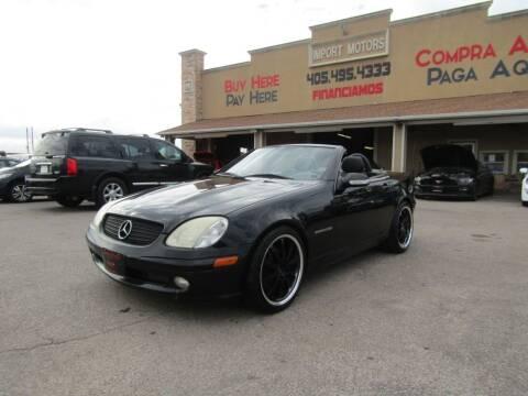 2003 Mercedes-Benz SLK for sale at Import Motors in Bethany OK