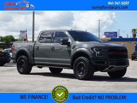 2018 Ford F-150 for sale at Sunny Florida Cars in Bradenton FL