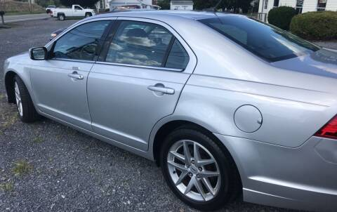 2011 Ford Fusion for sale at CESSNA MOTORS INC in Bedford PA