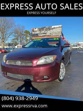 2006 Scion tC for sale at EXPRESS AUTO SALES in Midlothian VA