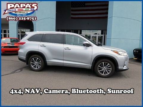 2018 Toyota Highlander for sale at Papas Chrysler Dodge Jeep Ram in New Britain CT