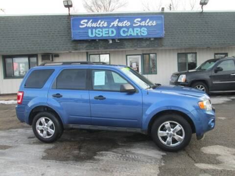 2009 Ford Escape for sale at SHULTS AUTO SALES INC. in Crystal Lake IL