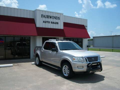 2007 Ford Explorer Sport Trac for sale at Fairwinds Auto Sales in Dewitt AR