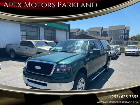2007 Ford F-150 for sale at Apex Motors Parkland in Tacoma WA
