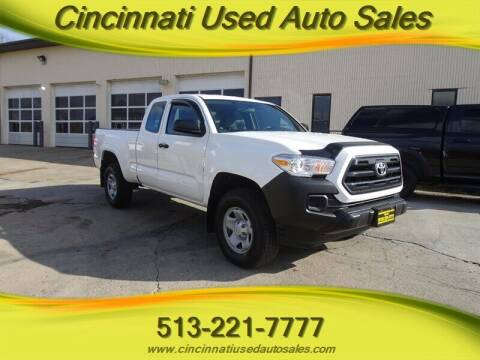2016 Toyota Tacoma for sale at Cincinnati Used Auto Sales in Cincinnati OH
