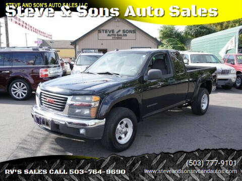 2005 GMC Canyon for sale at Steve & Sons Auto Sales in Happy Valley OR