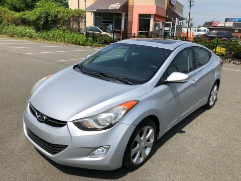 2011 Hyundai Elantra for sale at MAGIC AUTO SALES in Little Ferry NJ