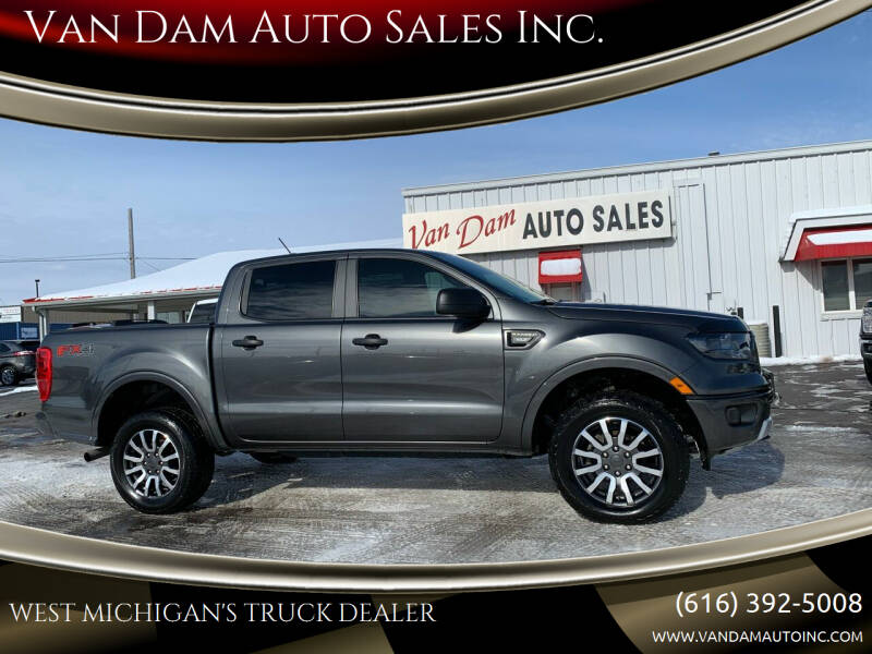 2019 Ford Ranger for sale at Van Dam Auto Sales Inc. in Holland MI