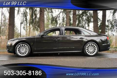 2014 Audi A8 L for sale at LOT 99 LLC in Milwaukie OR