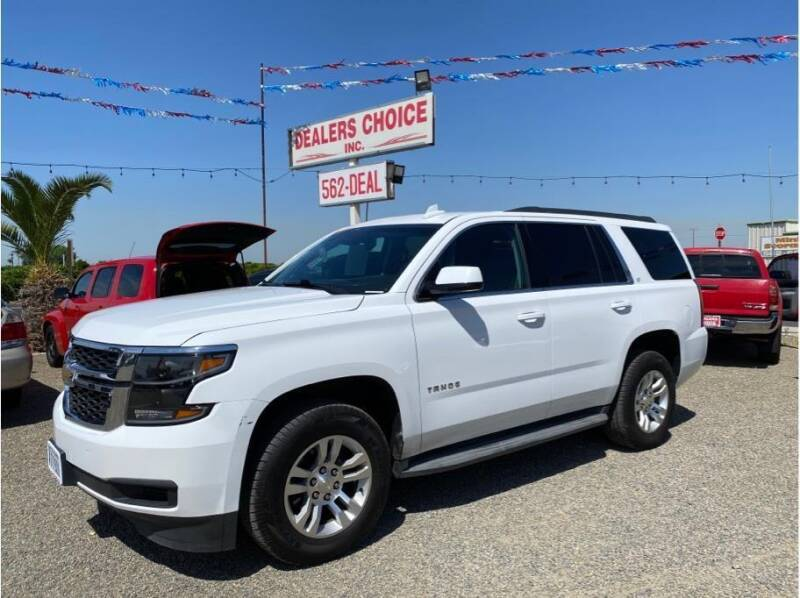 2015 Chevrolet Tahoe for sale at Dealers Choice Inc in Farmersville CA