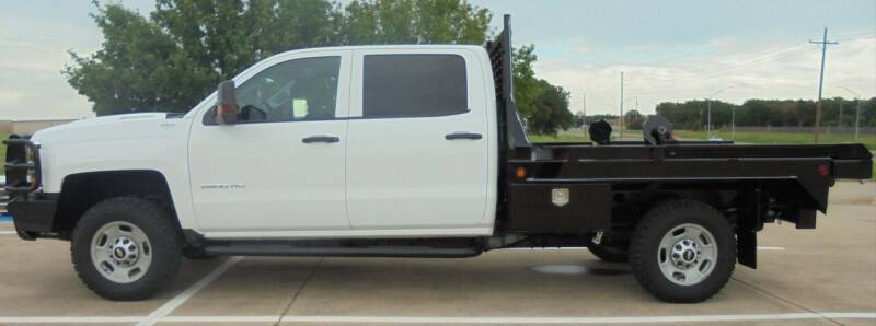 2017 Chevrolet Silverado 2500HD for sale at MANGUM AUTO SALES in Duncan OK