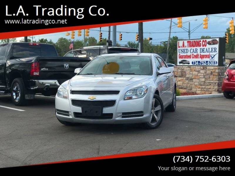 2012 Chevrolet Malibu for sale at L.A. Trading Co. in Woodhaven MI