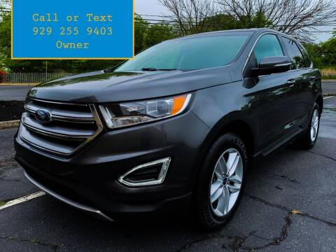 2017 Ford Edge for sale at Ultimate Motors in Port Monmouth NJ