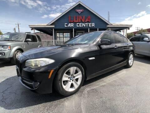 2012 BMW 5 Series for sale at LUNA CAR CENTER in San Antonio TX
