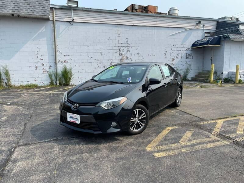 2016 Toyota Corolla for sale at Santa Motors Inc in Rochester NY