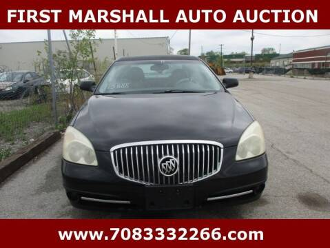 2011 Buick Lucerne for sale at First Marshall Auto Auction in Harvey IL