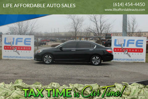 2014 Honda Accord for sale at LIFE AFFORDABLE AUTO SALES in Columbus OH