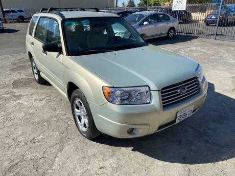 2007 Subaru Forester for sale at 101 Auto Sales in Sacramento CA