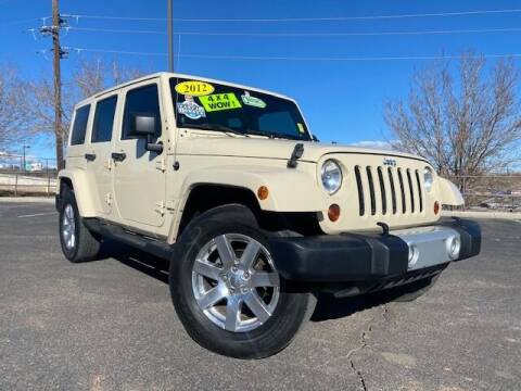 2012 Jeep Wrangler Unlimited for sale at UNITED Automotive in Denver CO