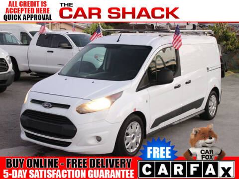 2015 Ford Transit Connect Cargo for sale at The Car Shack in Hialeah FL