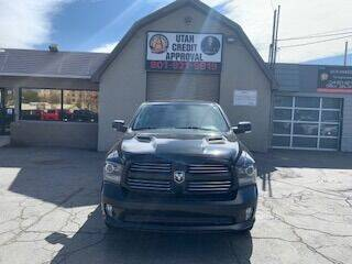 2016 RAM Ram Pickup 1500 for sale at Utah Credit Approval Auto Sales in Murray UT