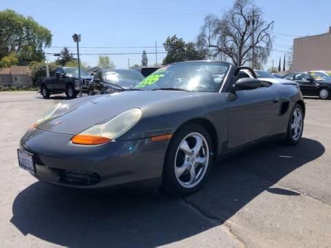 2002 Porsche Boxster for sale at C J Auto Sales in Riverbank CA