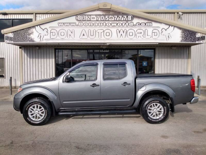 2016 Nissan Frontier for sale at Don Auto World in Houston TX
