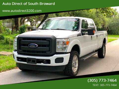 2016 Ford F-350 Super Duty for sale at Auto Direct of South Broward in Miramar FL