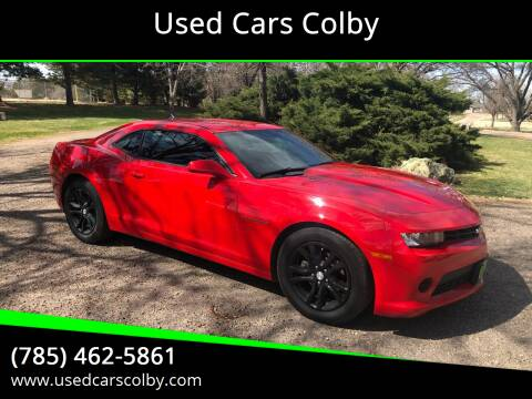 2015 Chevrolet Camaro for sale at Used Cars Colby in Colby KS
