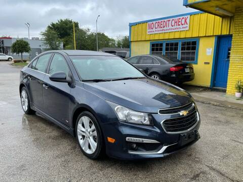 2015 Chevrolet Cruze for sale at Friendly Auto Sales in Pasadena TX