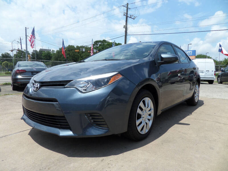 2016 Toyota Corolla for sale at West End Motors Inc in Houston TX