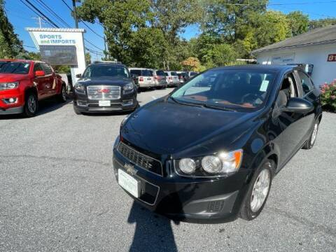 2012 Chevrolet Sonic for sale at Sports & Imports in Pasadena MD