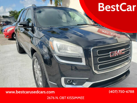 2016 GMC Acadia for sale at BestCar in Kissimmee FL