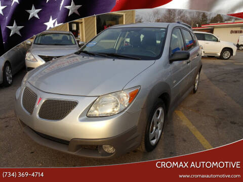 2008 Pontiac Vibe for sale at Cromax Automotive in Ann Arbor MI