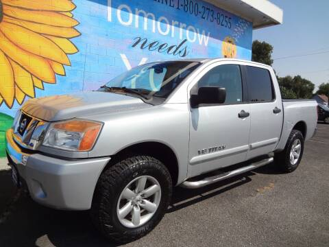 2010 Nissan Titan for sale at FINISH LINE AUTO SALES in Idaho Falls ID